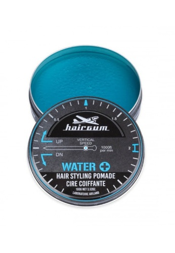 Hairgum grey and blue Hairgum Water+ Pomade 100g [HG1421] 16D0DBEE892277GS_1