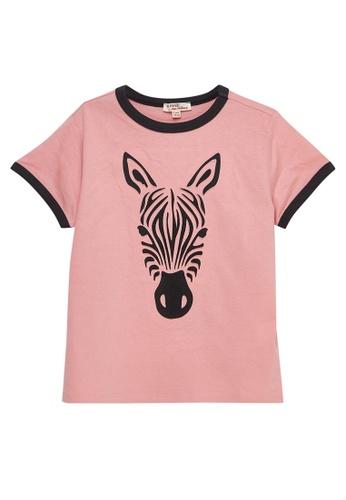 Du Pareil Au Même (DPAM) pink Light Rose T-shirt 42CD2KA3474FB9GS_1