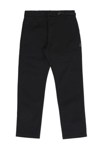 izzue black Regular fit pants BC3ABAAE0D4727GS_1
