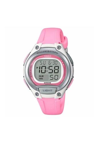 Casio pink CASIO GENERAL LW-203-4AVDF WOMEN'S WATCH 7A1F1AC6285CAFGS_1
