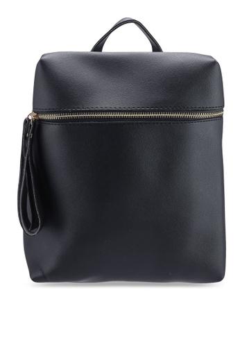 Berrybenka black Sylvia Octa Backpack 97970AC3A5C93FGS_1