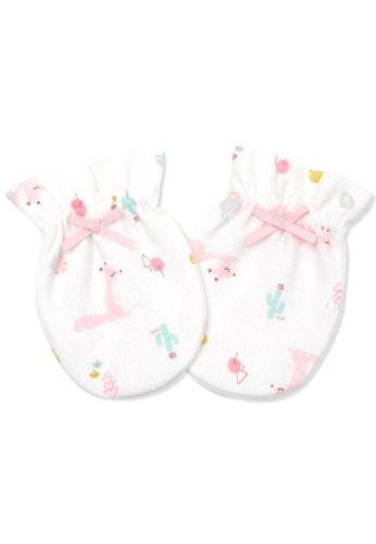 Organic mom pink Organic Pinky Deer Mittens (FALL/WINTER) 35442KC8A12C03GS_1