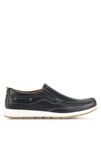 Rocklander black Loafer Shoes 99220SH232306DGS_1