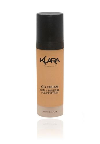 KLARA COSMETICS beige CC Cream 8 In 1 #5 - Dark 7E692BEC6C9325GS_1