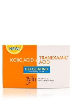 Intensive Whitening Kojic Tranexamic Bar with Exfoliating Lemon Scrubs