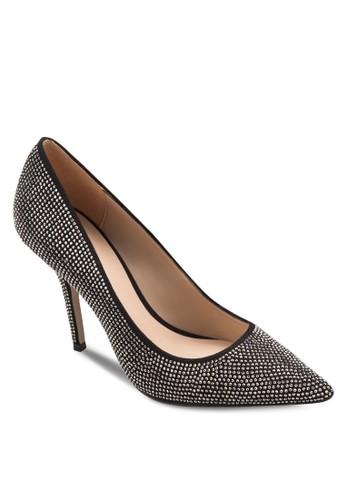 Haollan zalora 心得閃飾尖頭高跟鞋, 女鞋, 鞋