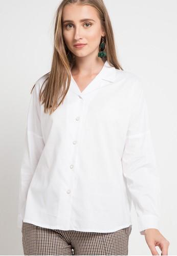 WHITEMODE white Carolyn Blouses 3B94FAAA0BAE36GS_1