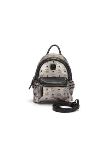 MCM silver Pre-Loved mcm MCM Rucksack Backpack in Metallic - Silver 86514AC866832CGS_1