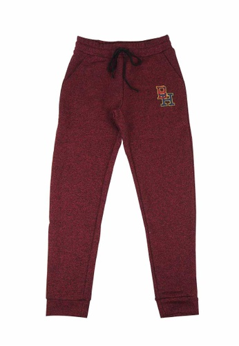 Beverly Hills Polo Club red BHPC Women Double Knit Graphic Jogger 010B4AAB485FDAGS_1