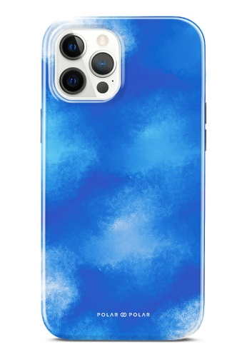 Polar Polar blue Clouds In Summer Dual-Layer Tough Case Glossy For iPhone 12 Pro Max FC5E5AC0552F7BGS_1
