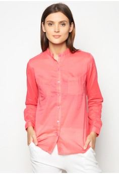 Kendall Chinese Collared Shirt