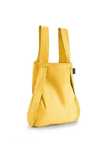 NOTABAG yellow Notabag Original Convertible Tote Backpack - Golden 0A63FACBD13029GS_1