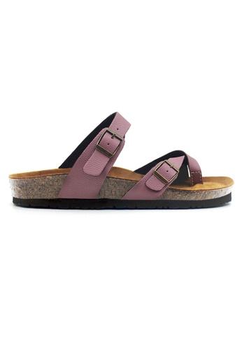 SoleSimple 褐色 Dublin - 棕褐色 百搭/搭帶 軟木涼鞋 E710BSH1C47151GS_1