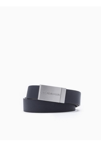Buy Calvin Klein Metal Logo Plaque Belt Online on ZALORA Singapore 480c5d1face