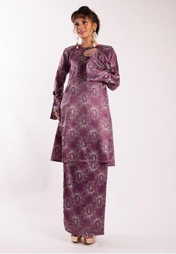 LIDYA KUALA LUMPUR purple Deanna Kurung Pahang E56FEAA6E5B021GS_1