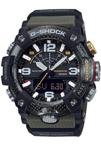 G-Shock green Casio G-SHOCK Jam Tangan Pria - Green Black - Resin - GG-B100-1A3DR Mudmaster BD913ACAFC73BDGS_1