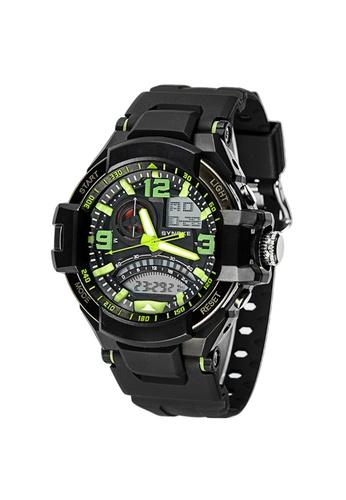 Greatnes Trading Corp green Men's Multifunctional  Digital Rubber Watch GR861AC71RUMPH_1