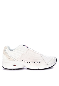 583459a1e028 Tommy Hilfiger white Tommy Jeans Heritage Sneakers D04FESHA2FA64CGS 1