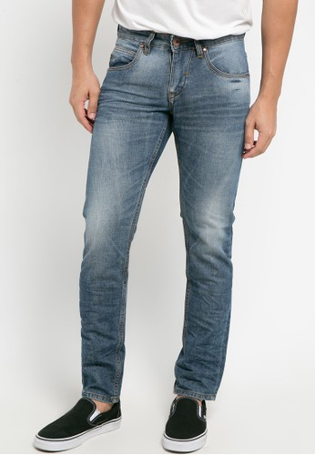 Cressida navy Basic Slim Jeans 74020AAC62FA7AGS_1