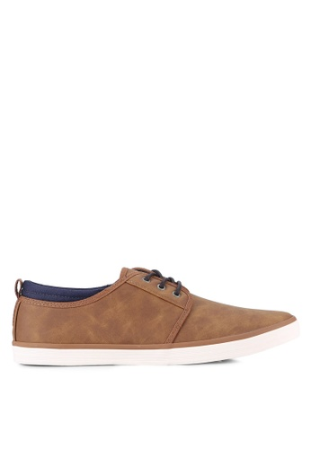 Call It Spring brown Etedia Derby Shoes CA512SH0RLFWMY_1