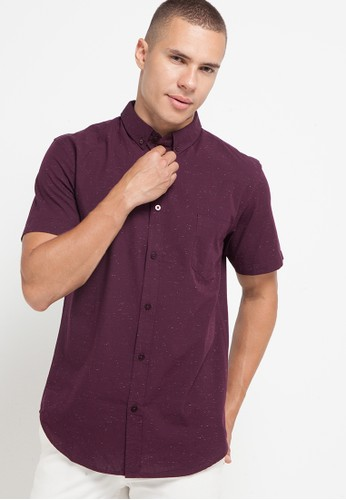 No Fear red Hemlock - Slim Fit Short Sleeve Shirt F5C76AA1FE2D26GS_1