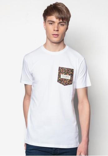 碎花口袋TEE, esprit tw服飾, 印圖T恤