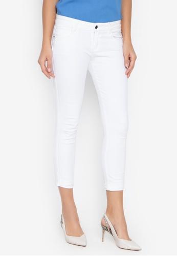 Balaynor white Cupped Skinny Jeans 9BA43AA2CFC28BGS_1