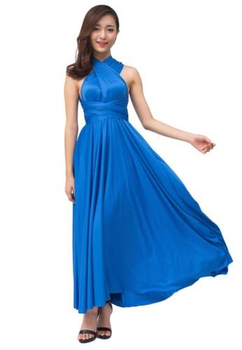 a42b64c480c COVETZ Wedding blue Kaelyn Convertible Maxi Dress - Ultramarine  CO611AA17VVIMY 1