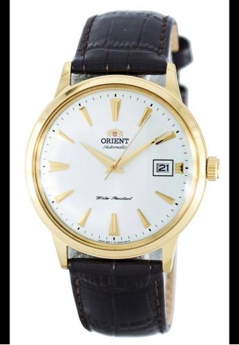Orient brown Orient Men's Brown Leather Watch - FAC00003W0 7F80DACA1C2365GS_1