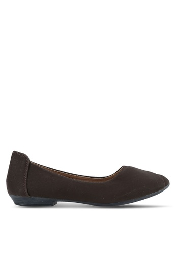 Louis Cuppers 褐色 Solid Flats LO977SH0S9SRMY_1