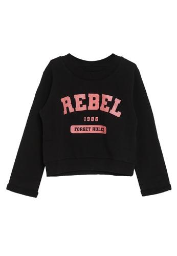 NAME IT black Negu Long Sleeves Loose Sweater 27BC3KA20541A0GS_1