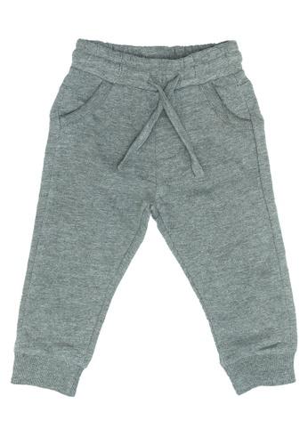 FOX Kids & Baby grey Baby Boy Pants AA477KA6AD0659GS_1