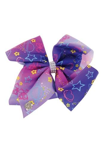 Jojo Siwa purple Jojo Siwa Bow With Clip (Star Planet) 52C59KC8119868GS_1