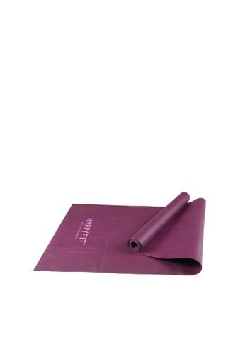 Happyfit purple HAFPPYFIT YOGAMAT NATURAL RUBBER MAT 2.5MM PURPLE C7935ACE8AC4A5GS_1