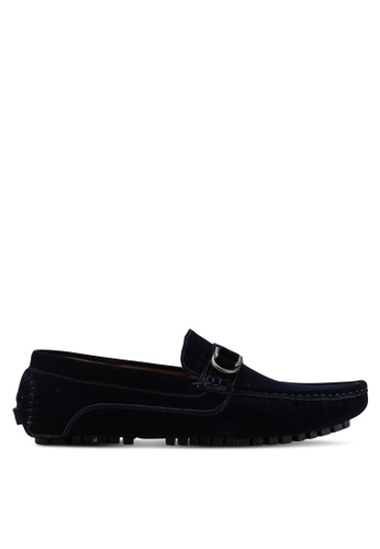 High Cultured navy D-Ring Loafers 319 22FC9SH351D4E9GS_1