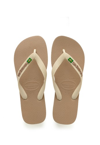 Havaianas beige Havaianas Brasil Logo 6842-Rose Gold 2B6D8SH3BB89CAGS_1