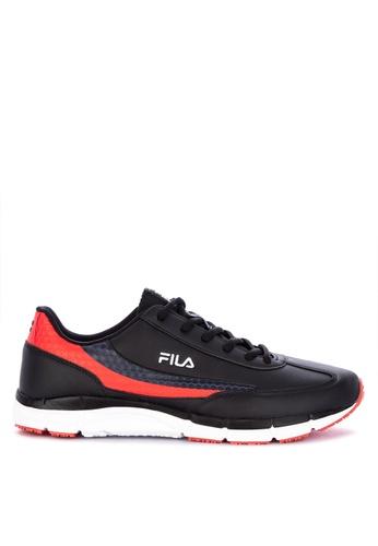 Fila black Dignified Running Shoes E4911SH28CA72CGS_1