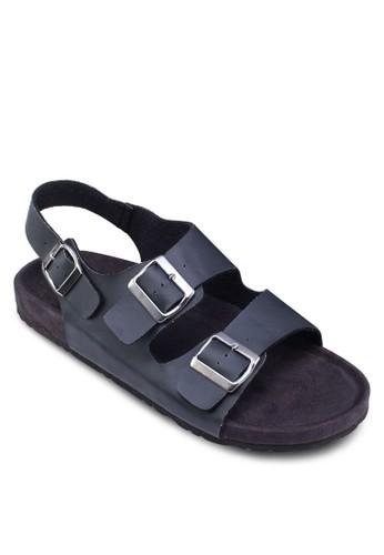 扣環雙帶涼鞋zalora 男鞋 評價, 鞋, 鞋
