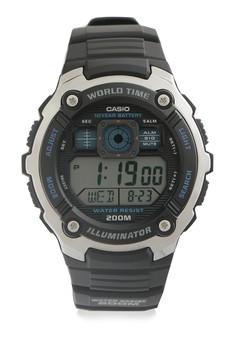 harga Round Watch Ae-2000W-1A Zalora.co.id