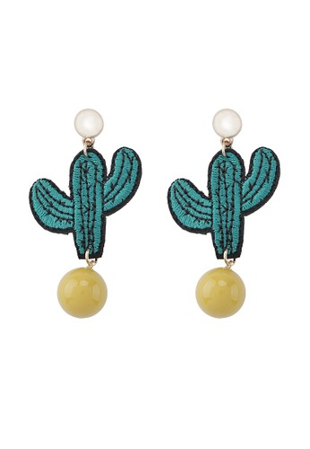 Vasellaofficial green Cactus Charm VA163AC0WBS2ID_1