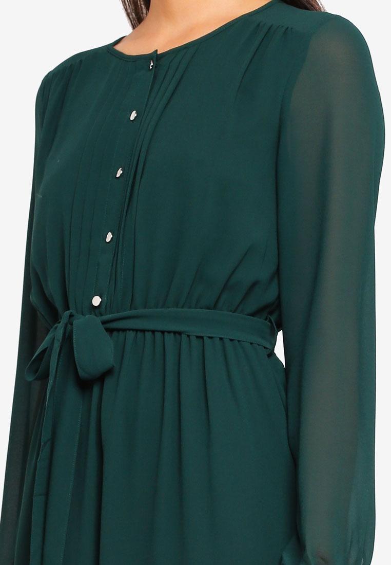 Green Dorothy Green Dress Shirt Perkins Maxi w0rfStqw