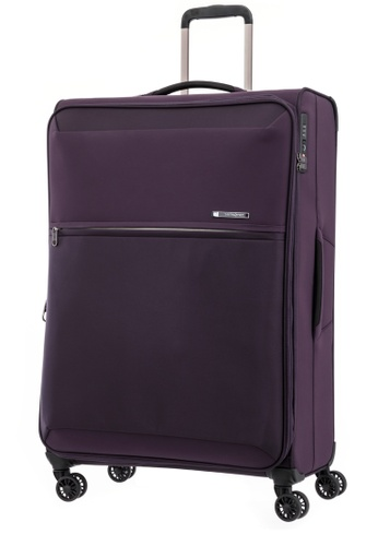 Samsonite purple Samsonite 72H DLX Spinner 78/29 EXP (WOB) 677BEAC59128B7GS_1