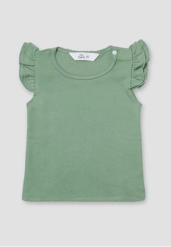 Tili Dahli green Fairy Shirt Stripes 70E25KAF9EE8E3GS_1