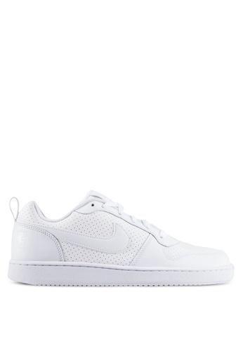 Nike white Men's Nike Court Borough Low Shoes NI126SH0RJJ8MY_1