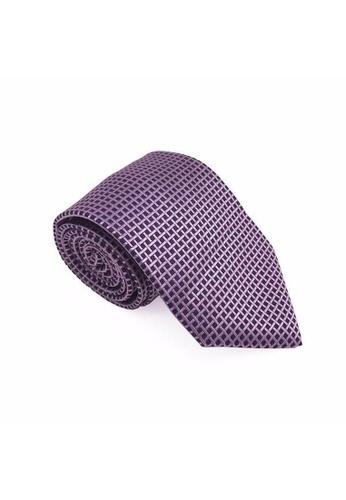 The Little Link Cufflinks pink Ambrose Silk Tie TH089AC0FSV6SG_1