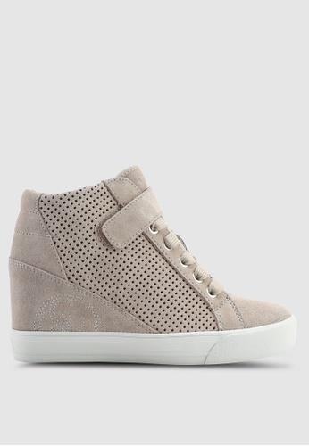 Guess 褐色 Decia Wedge 運動鞋 6F168SHECA02FAGS_1