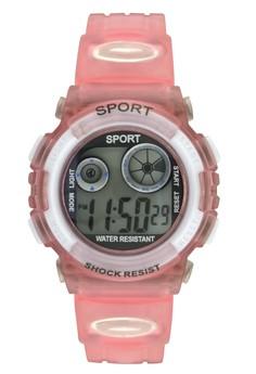 Sport Unisex Digital PVC Strap Watch K1409