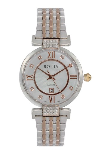 BONIA silver Bonia B10356-2653 - Jam Tangan Wanita - Silver Rosegold BAD1CAC770E877GS_1