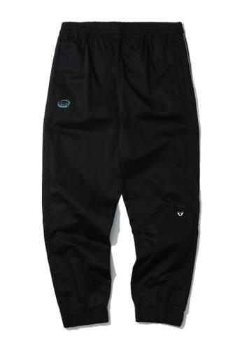 Fivecm black Piped jogger pants 3909CAAD380880GS_1