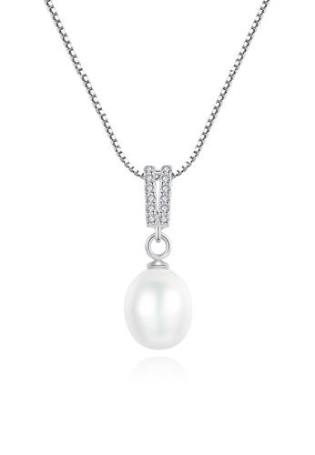 A.Excellence white Premium White Pearl Elegant Necklace 45A2FACEC274B8GS_1